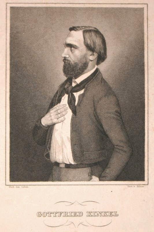 Gottfried Kinkel. 1840