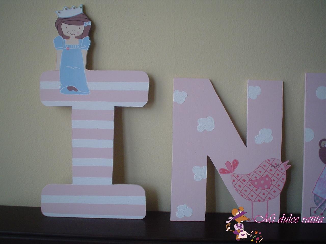disenos para pintar letras de madera mi dulce ratita letras de madera