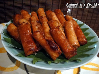 Turon at Milky Way Cafe