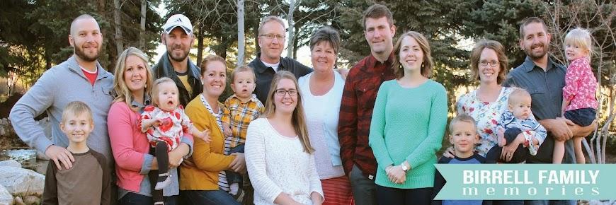 Birrell Family Blog