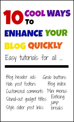 10 Cool Ways to Enhance Your Blog Quickly