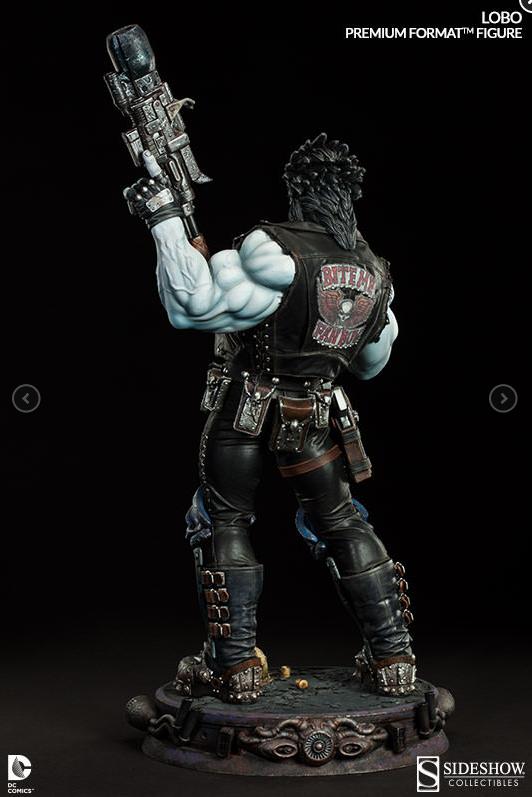 Lobo DC Comics Premium Figure Sideshow