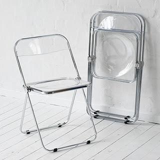 Febrero la silla plia the deco soul for Sillas cocina transparentes