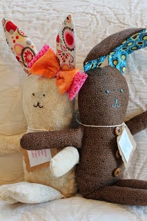 Handmade Easter Bunnies