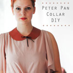 Peter Pan Collar DIY
