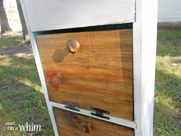 Contemporary Rustic Vegetable Bin Makeover from Denise on a Whim