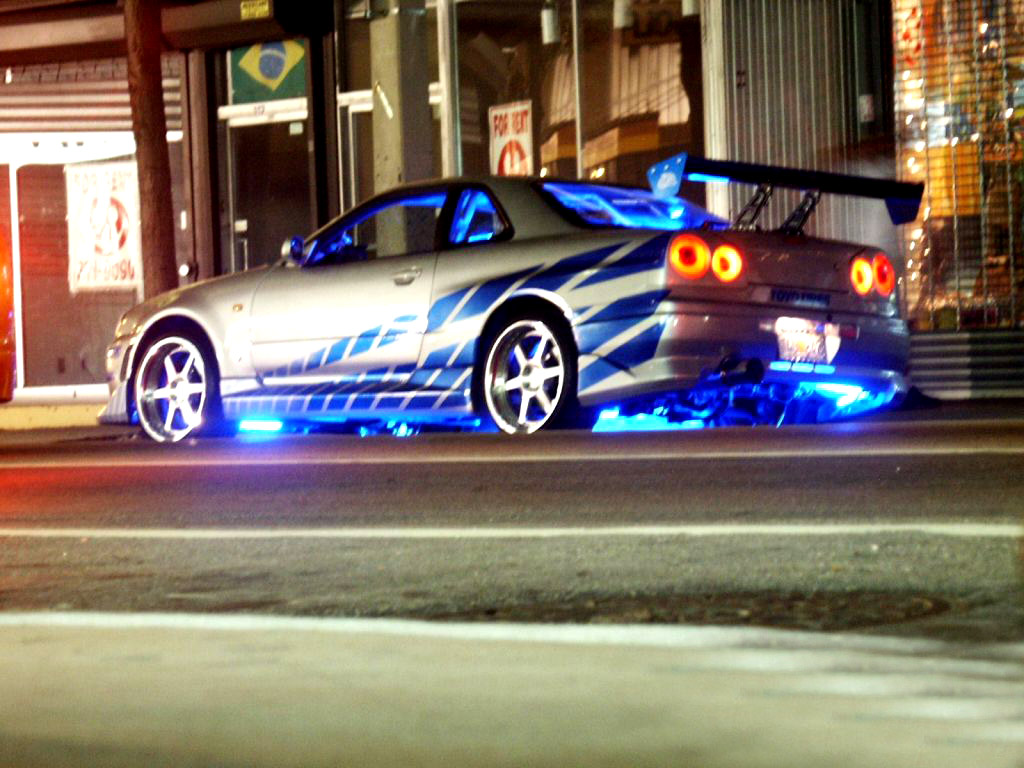 Fast 2 Furious Cars