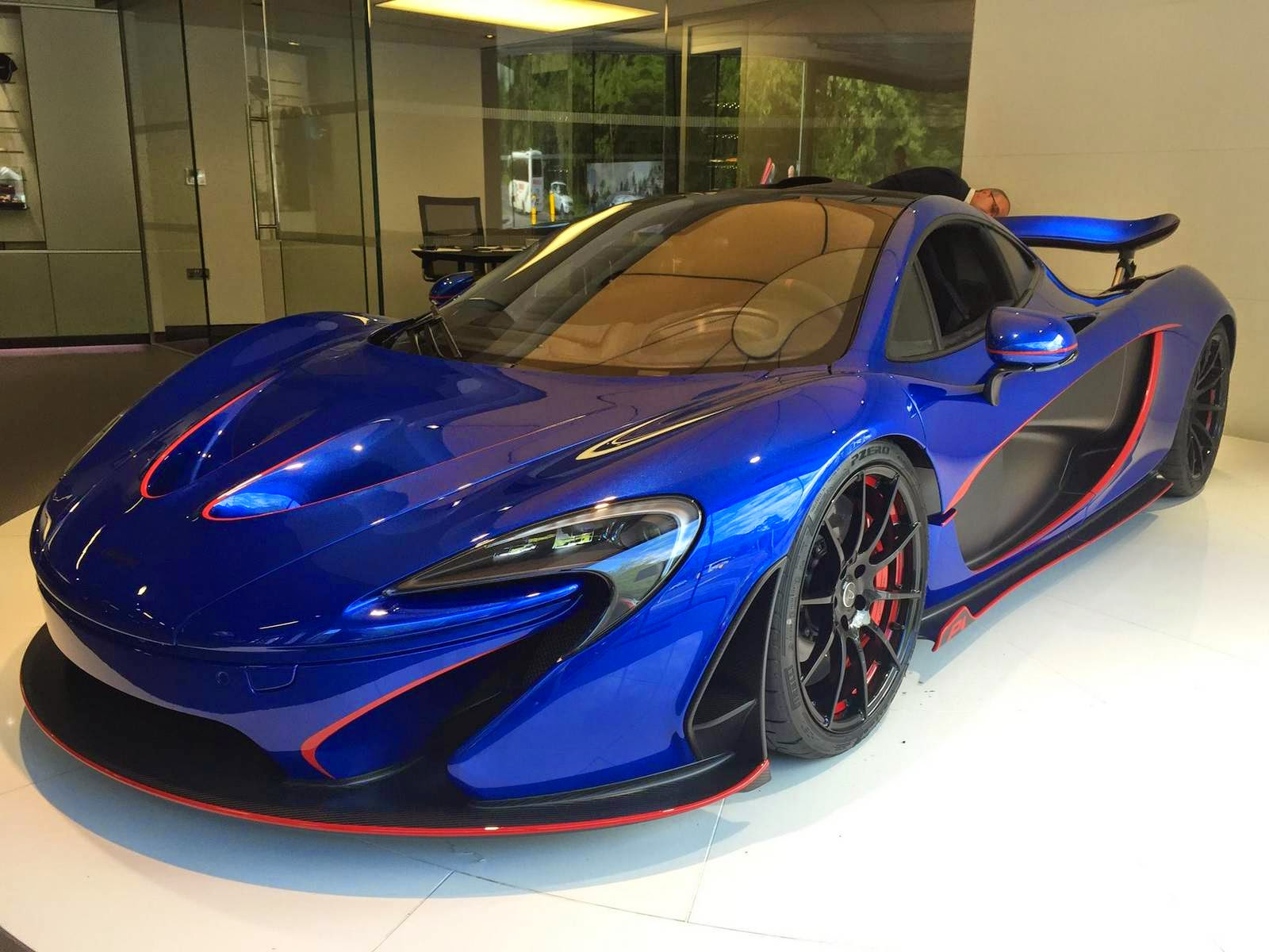 Mclaren Automotive Delivers New Blue Mso Mclaren P1