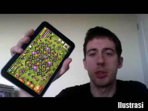 menunjukkan tablet COC