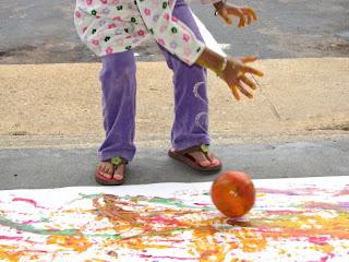 pumpkin play art