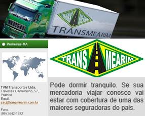 TVM TRANSPORTE LTDA - Trav. Carvalinho, 57 - Fone: (99) 3642-1922/ (99) 98133-1255