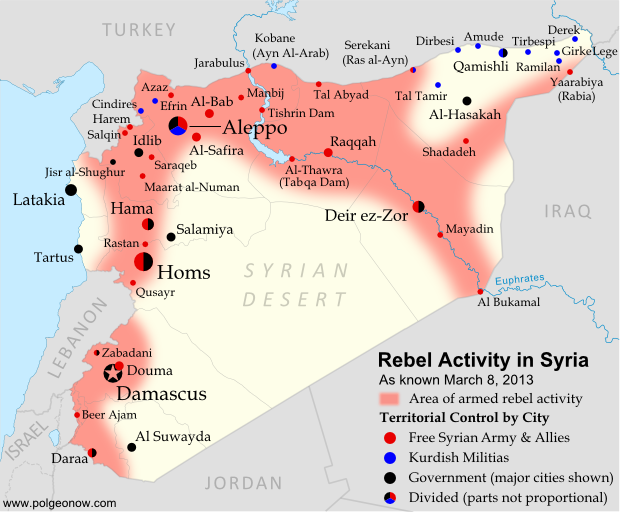 Syrian conflict: the background and the current situation on the ...