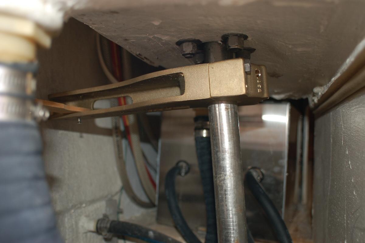 bailer or manual bilge pump is required