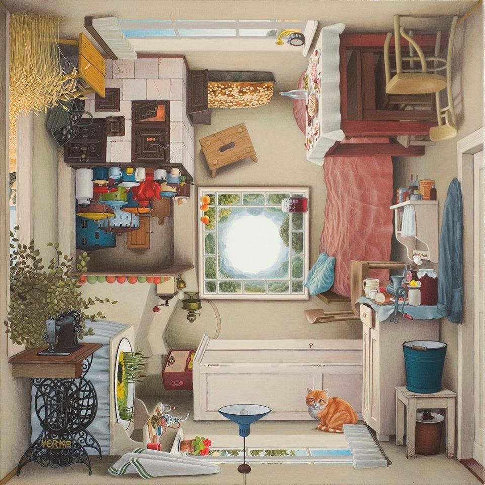 15-Polish-cuisine-Jacek-Yerka-Surreal-Paintings-Parallel-Universes-www-designstack-co