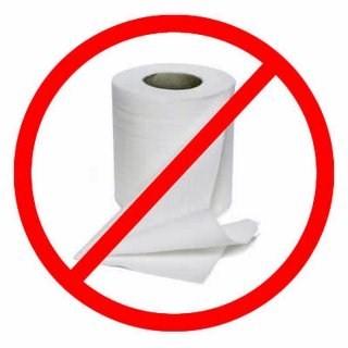 No Papel Higienico