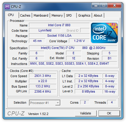 Download CPU Z Portable