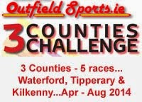 3 Counties Challenge... Tipp, Waterford, Kilkenny ...Apr-Aug 2014