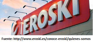 Rotulo hipermercado Eroski