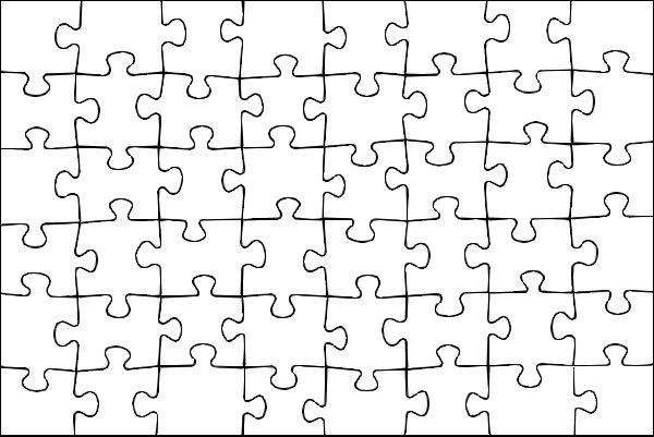 puzzle vorlage