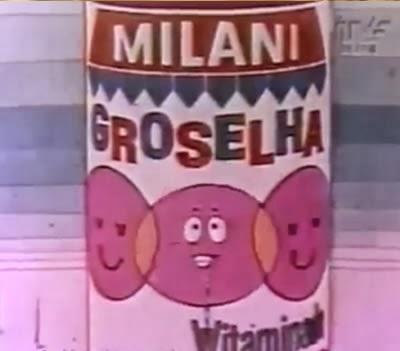 Propaganda da Groselha Milani nos anos 70. Jingle marcante para a época.