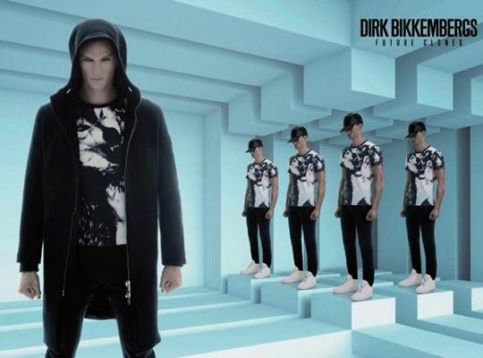 Dirk Bikkembergs Fall/Winter 2014 Campaign