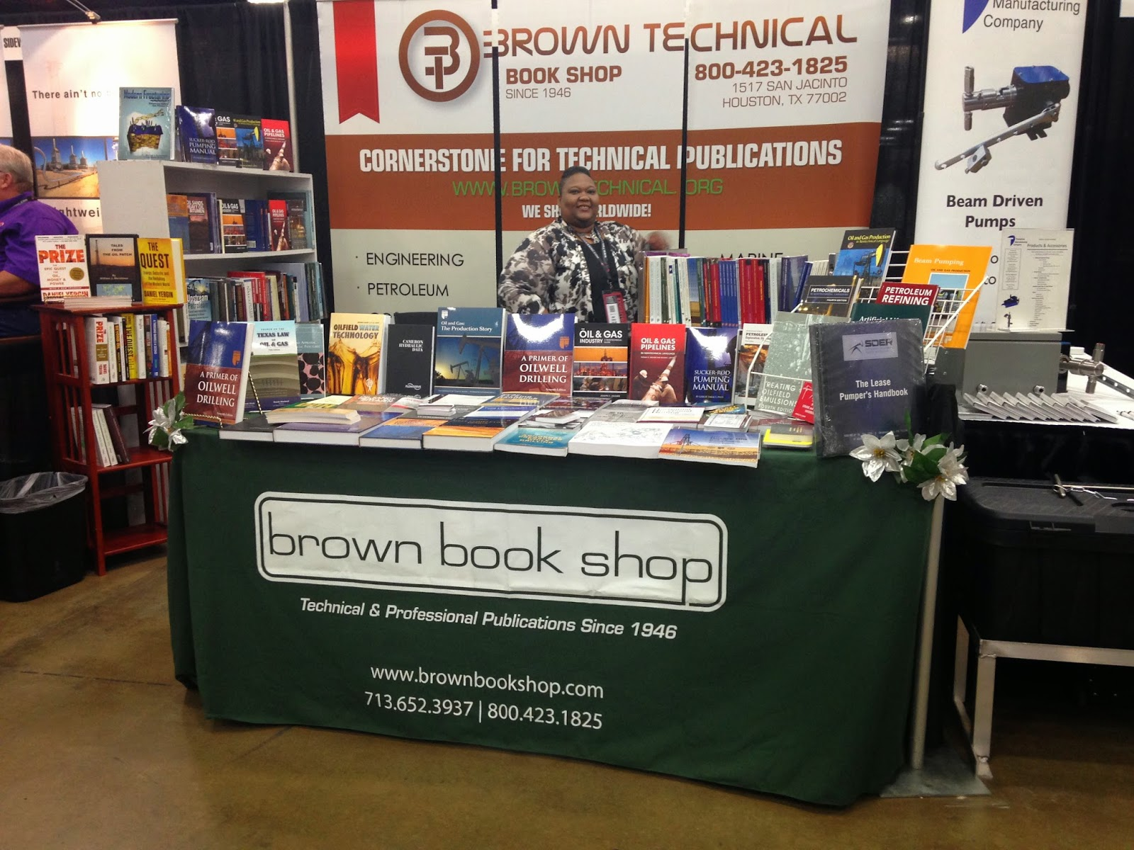 Brown at the South Texas oilfield Expo