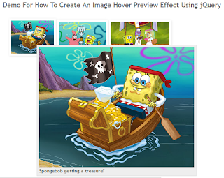 How To Create An Image Hover Preview Effect Using jQuery