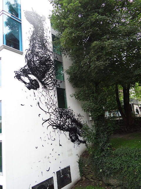 Street Art Pieces By DALeast For Nuart Urban Art Festival In Norway. 4