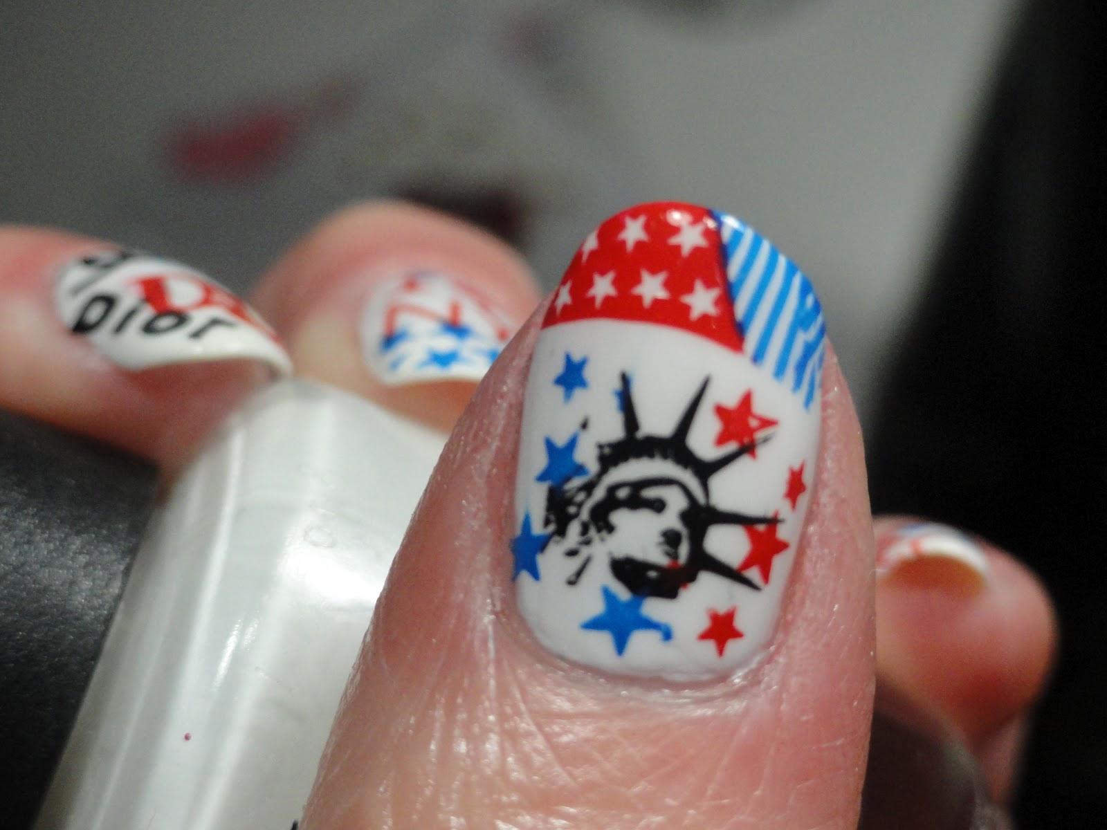Canadian Nail Fanatic: New York Inspired Mani