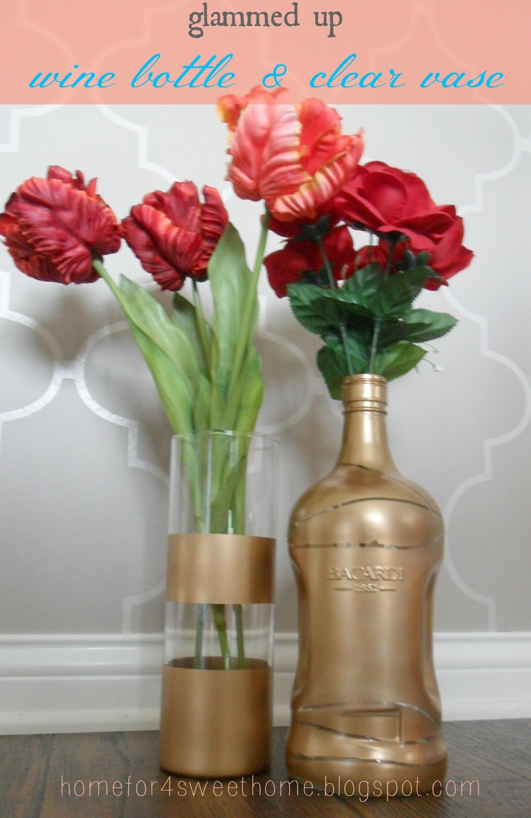 Home for4 sweet home june 2013 gold dipped vase reviewsmspy