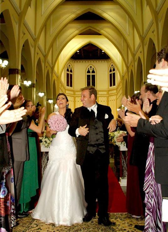 Casamento Saida entre Padrinhos