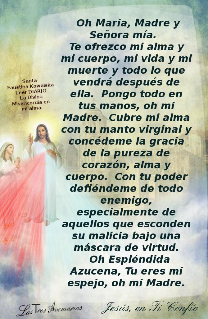 Divina Misericordia Oracion la Divina Misericordia