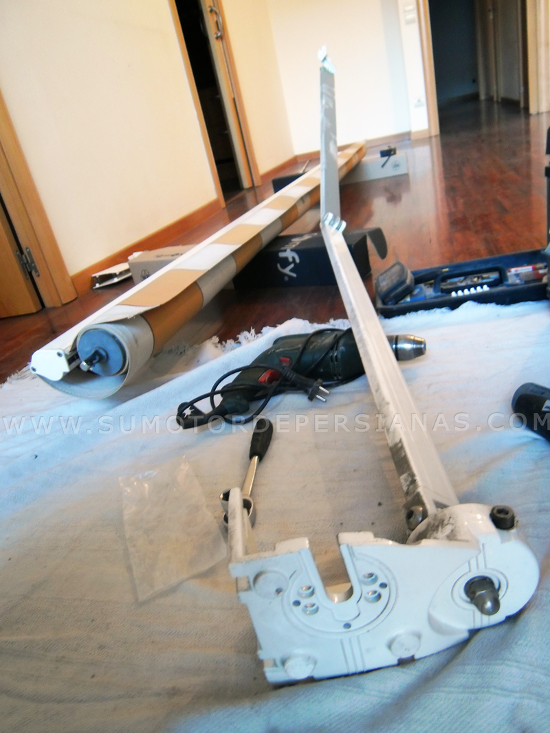 Poner motor a toldo materiales de construcci n para la - Motor para toldo ...