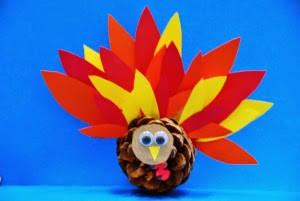 Pinecone Turkey by Annies Home