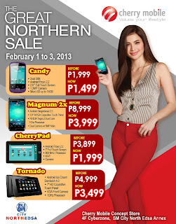 Cherry Mobile Promo - The Great Northern Sale