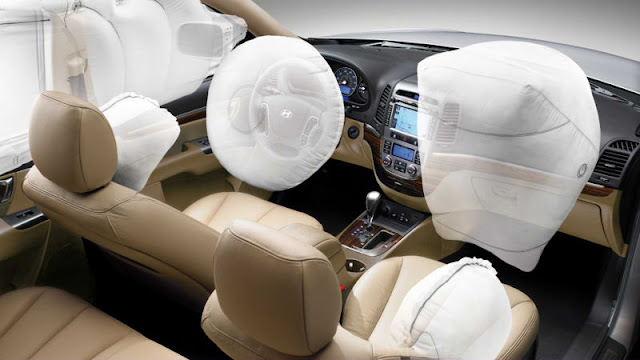 Cho thuê xe Hyundai Santa Fe 2012