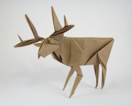 origami Deer Maekawa Genuine