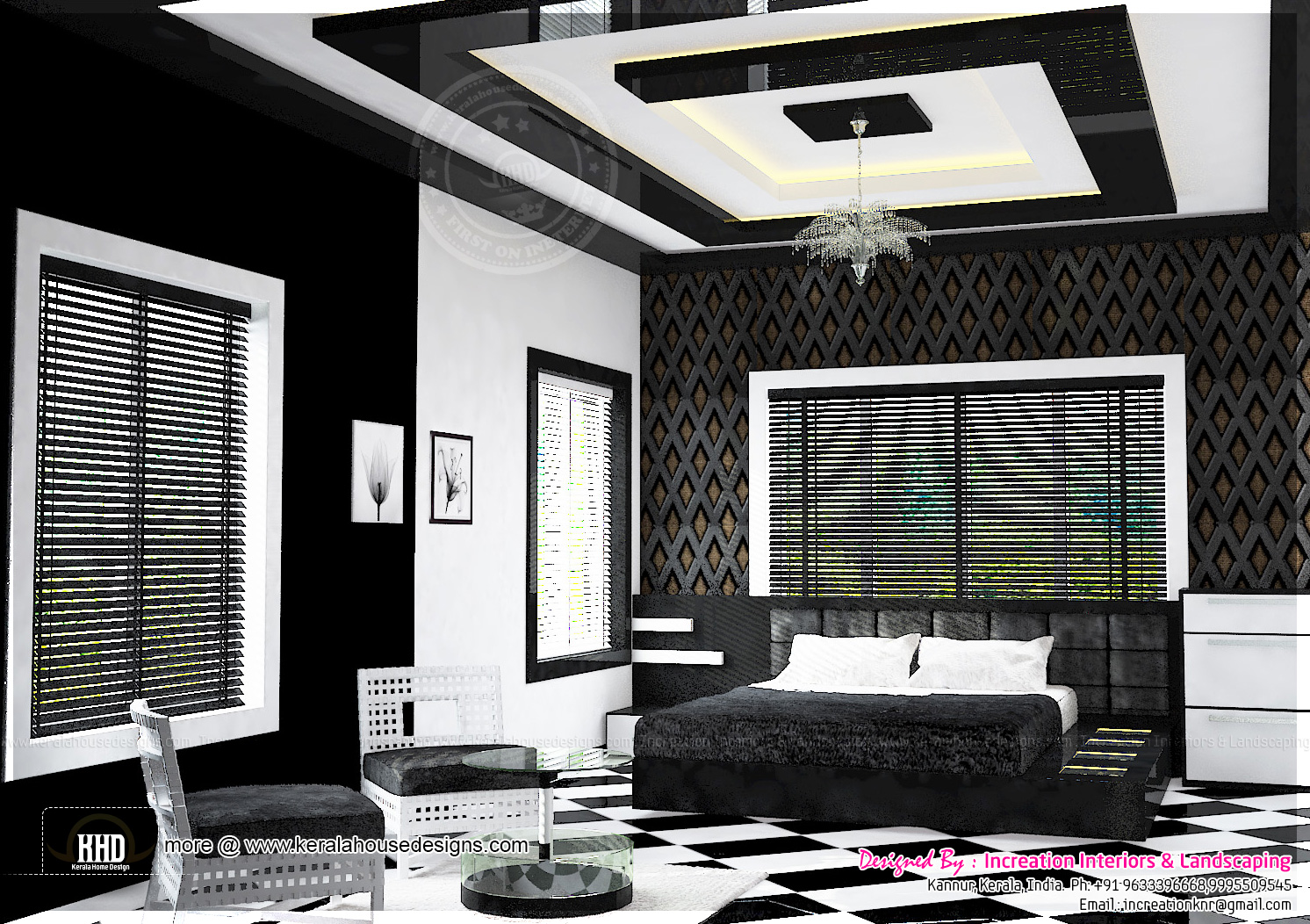 Interior foyer Interior living room Bedroom design 2 ...