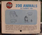 1966; [Civil] Zoo Animals Set No.2, S25 / 01725 / 017255HO/OO