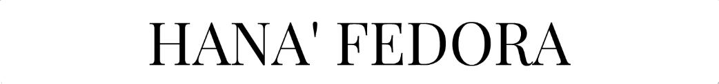 Hana' Fedora