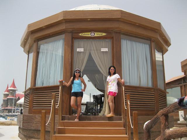 Cabanas at Ice Land Water Park Ras Al Khaimah