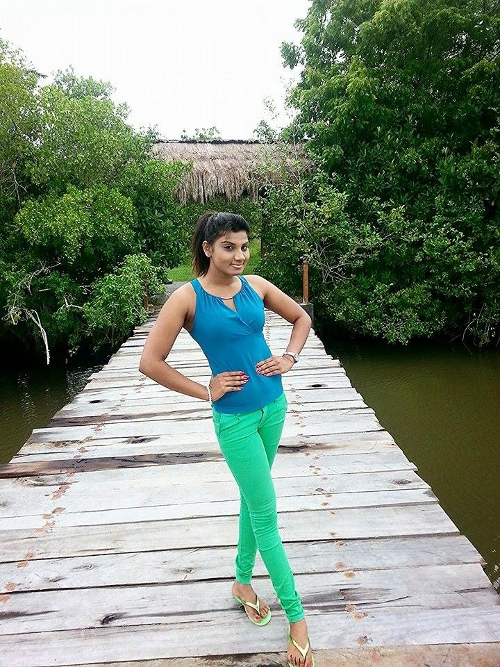 thilini  at Palm Paradise Cabanas Villas