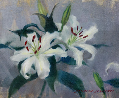 Best-jzaperoilpaintings-White-Lilies-Oil-Paintings-Image