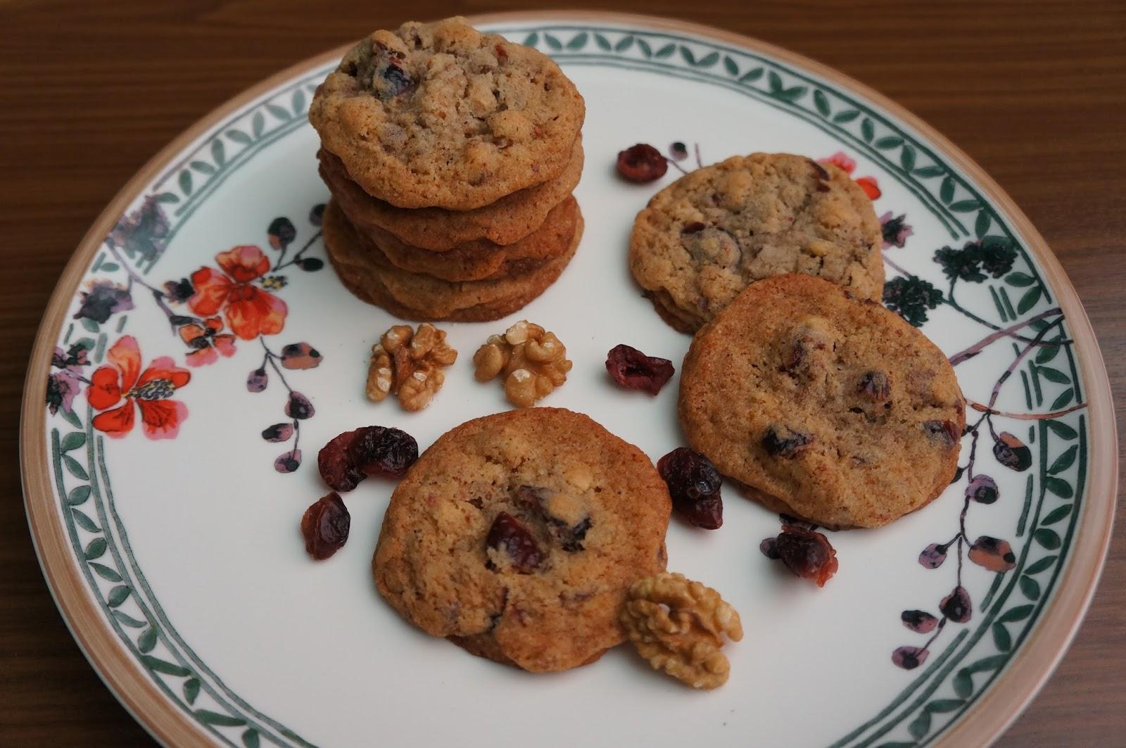 du findest mich in der k che walnuss cranberry cookies. Black Bedroom Furniture Sets. Home Design Ideas