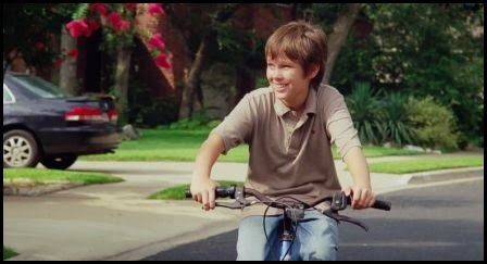 Ellan Coltrane en bicicleta en Boyhood (Richard Linklater, 2014)