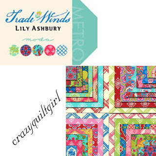 Moda TRADE WINDS Quilt Fabric by Lily Ashbury