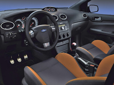 Interior design 2012 Ford Focus ST
