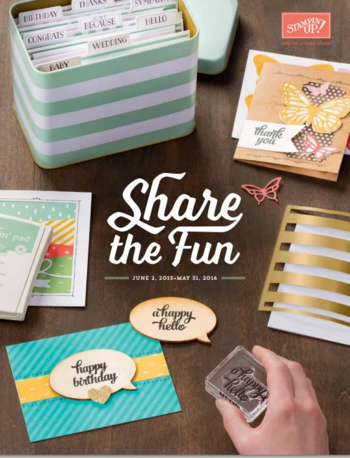 Stampin' Up catalogus 2015-2016