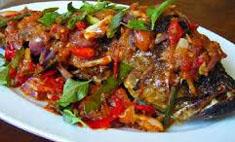 Resep praktis (mudah) ikan mujair bumbu tauco spesial (istimewa) enak, lezat