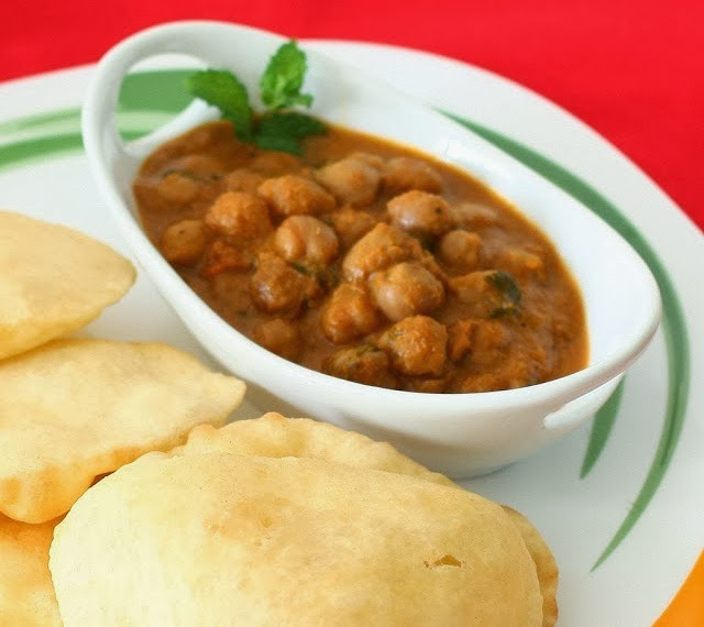 Chole bhature recipe also known as chole puri punjabi bhature chole bhature is easy to made and slight oil recipe many occasions chole bhature used as breakfast chole bhature with gulab jamun is a great combination forumfinder Gallery